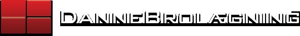 dannebrolægning logo white text